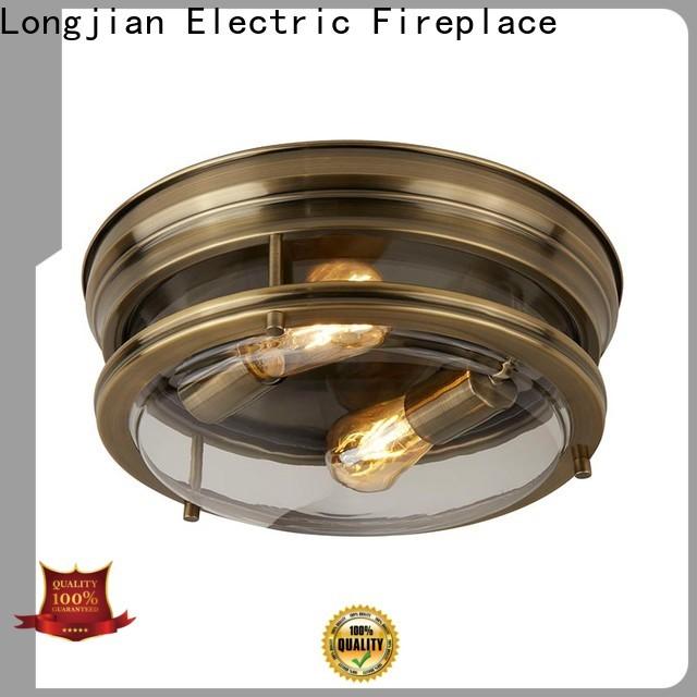 Longjian ip44 semi flush light led-lamp for arcade