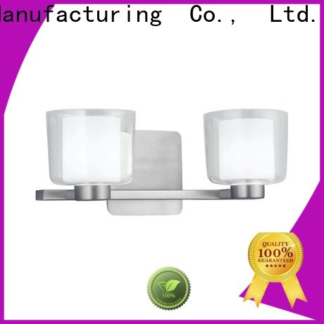 Longjian glass led wall lamp production for rooftop