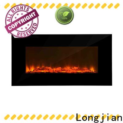 Longjian advanced modern electric fires wall mounted type for toilet