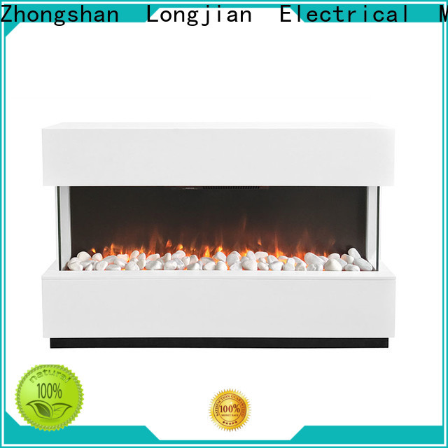 Longjian first-rate modern electric fire suites for-sale for hall