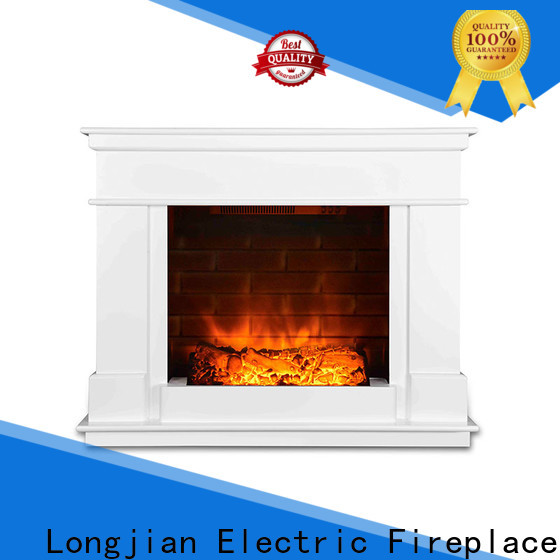 Longjian surrounds freestanding electric fire suite long-term-use for bathroom