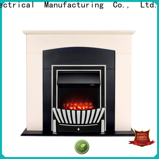 Longjian display inset electric fires package for kitchen