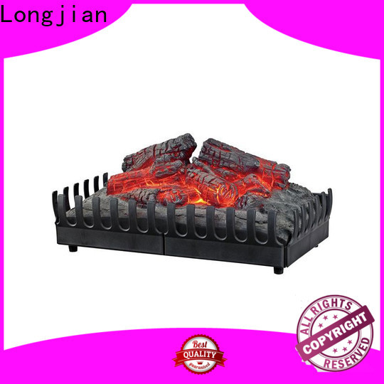Longjian newest inset electric fires long-term-use for bathroom