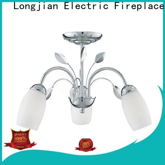 Longjian shade semi flush light sensing for bayfront