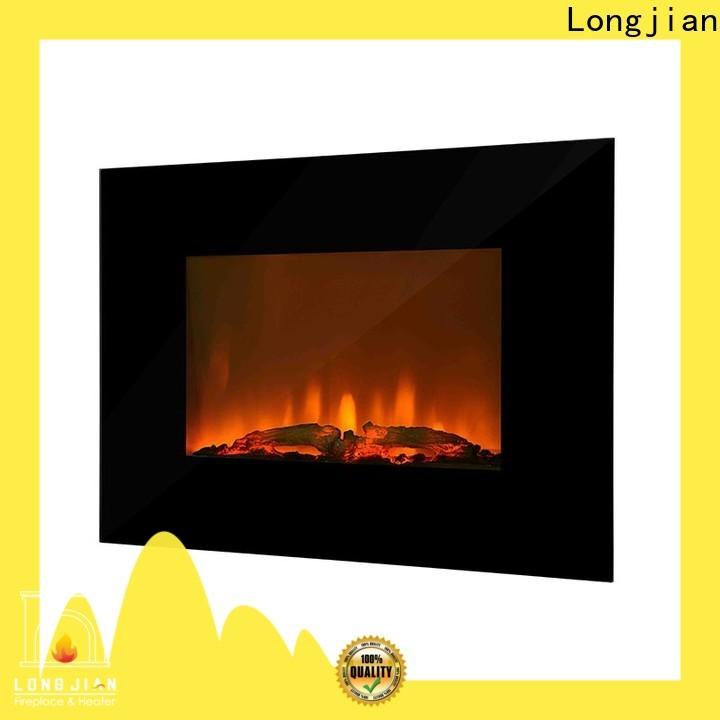 Longjian unique electric wall fireplace anticipation for bathroom