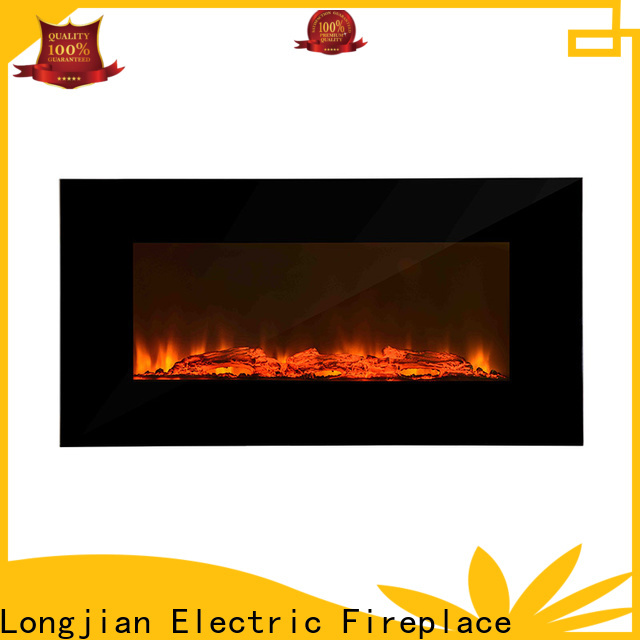 unique wall mounted fireplace decorative type for kitchen