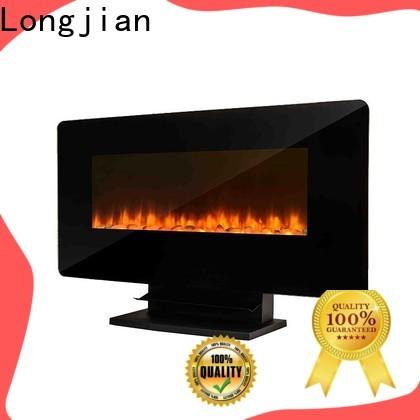 Longjian budgeree wall mount fireplace production for balcony
