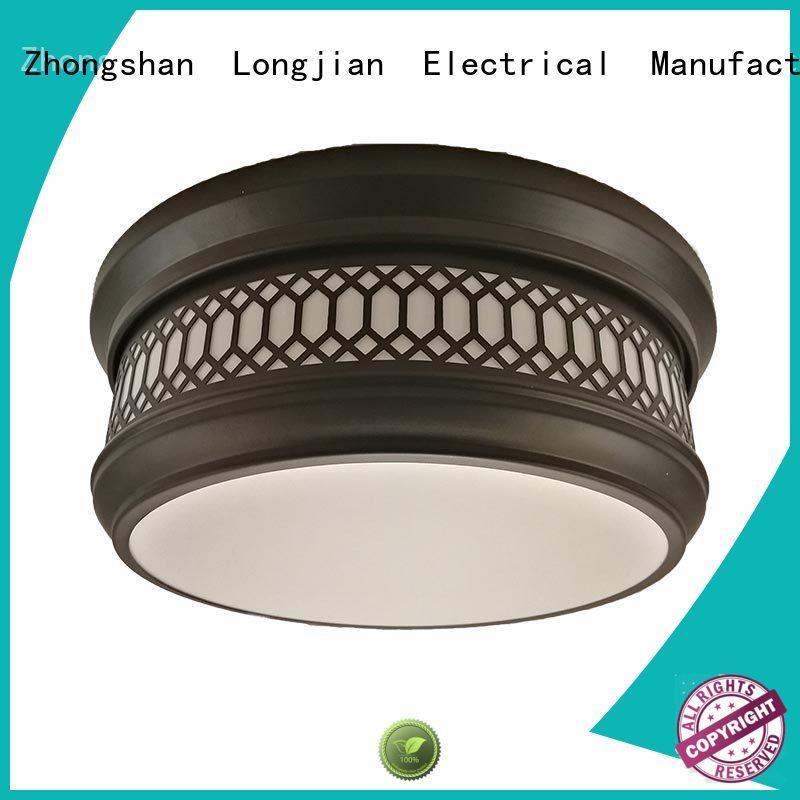 Longjian postmodern semi flush ceiling lights led-lamp for avenue