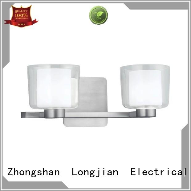 Longjian awesome wall mount led light production for toilet