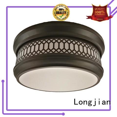 Longjian opal flush mount ceiling light long-term-use for arcade