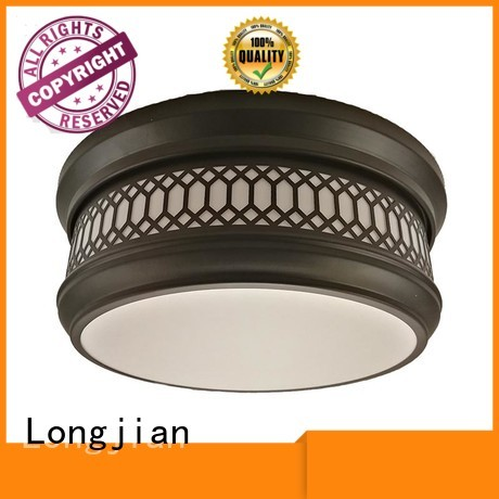 Longjian first-rate semi flush mount ceiling light led-lamp for arcade