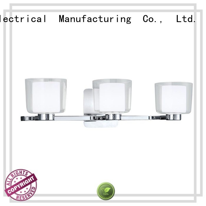 3 light Wall lamps Vanity bath Sconce with Clear Glass shade ip44 BW1906002-3