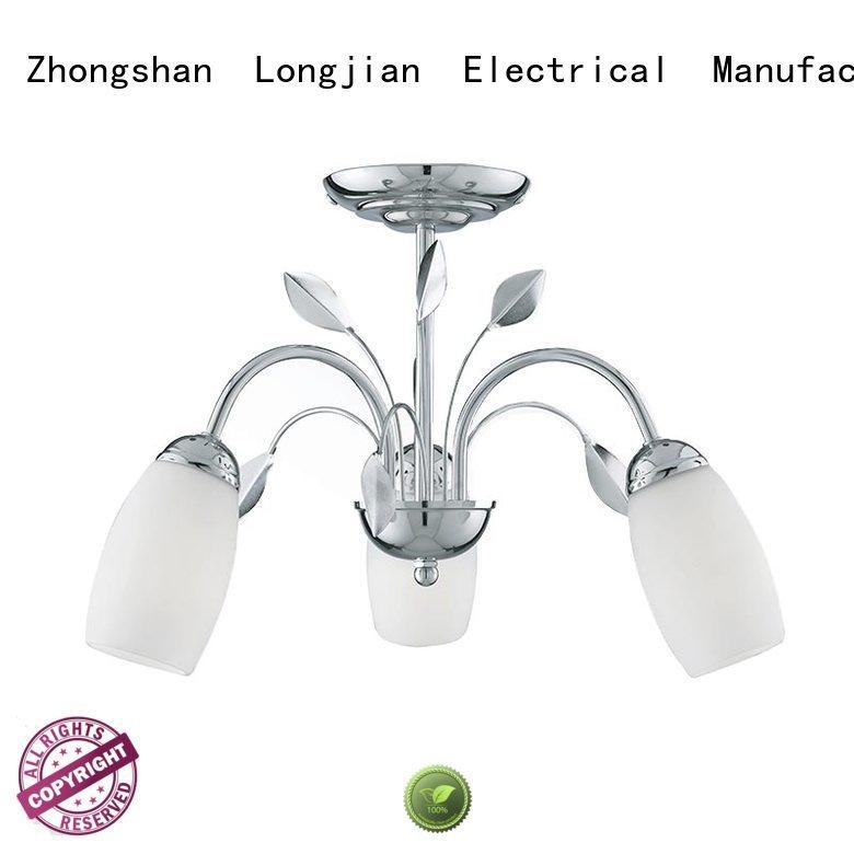 Longjian superb semi flush ceiling lights long-term-use for riverwalk