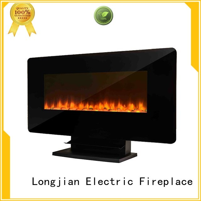 Longjian supernacular electric wall fireplace protection for rooftop