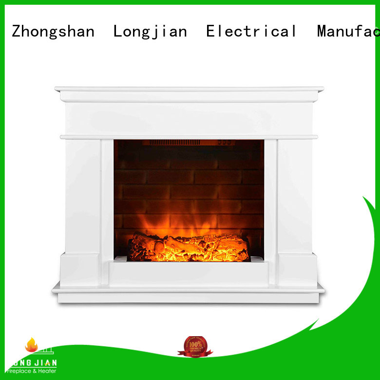 inexpensive electric fireplace suites wooden led-lamp for hall
