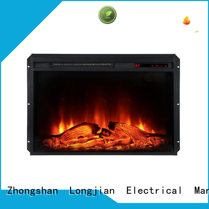 Longjian patent insert electric fireplace Application for bedroom