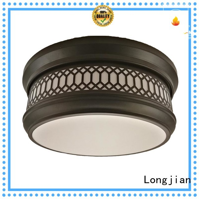 Longjian first-rate semi flush ceiling lights in-green for avenue