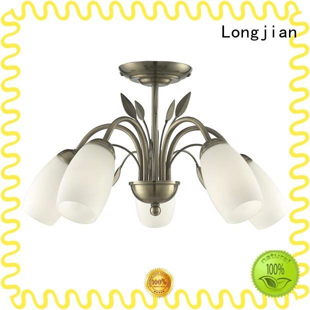 Longjian superb flush ceiling lights Application for riverwalk