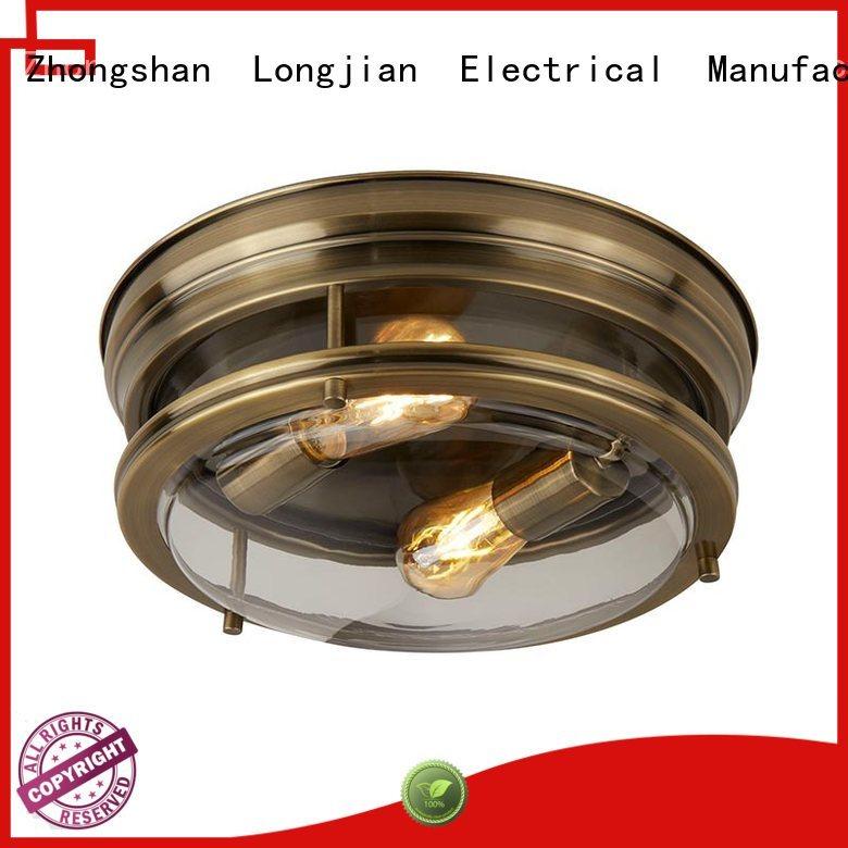 Longjian semiflush flush light long-term-use for dining room
