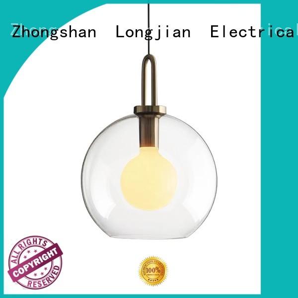 Longjian light modern pendant lighting testing for bedroom