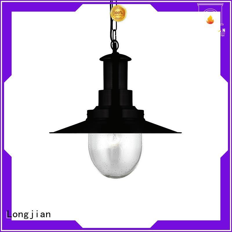 Longjian glass modern pendant lighting owner for bedroom