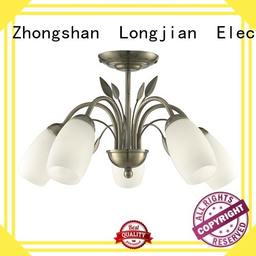 Longjian first-rate semi flush light Application for rooftop