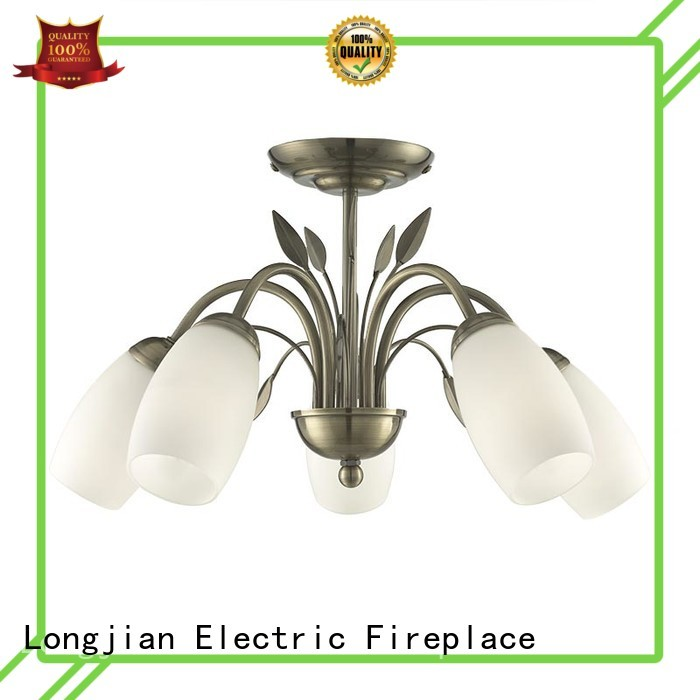 5 light ceiling semi-flush mount lamps with Opal Glass PC0007-5