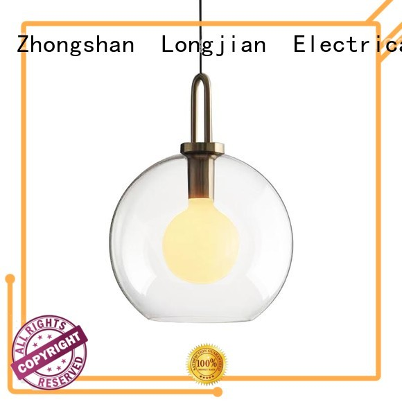 Longjian glass pendant lamp development for cellar