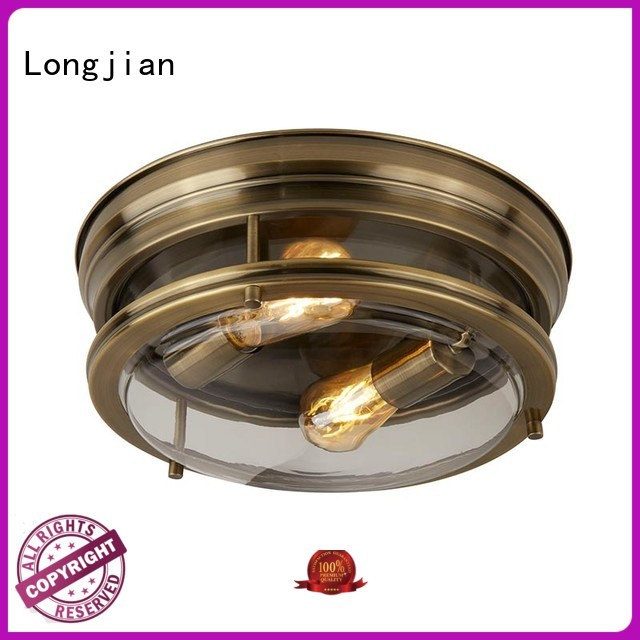 Longjian c00092 semi flush mount lighting in-green for dining room