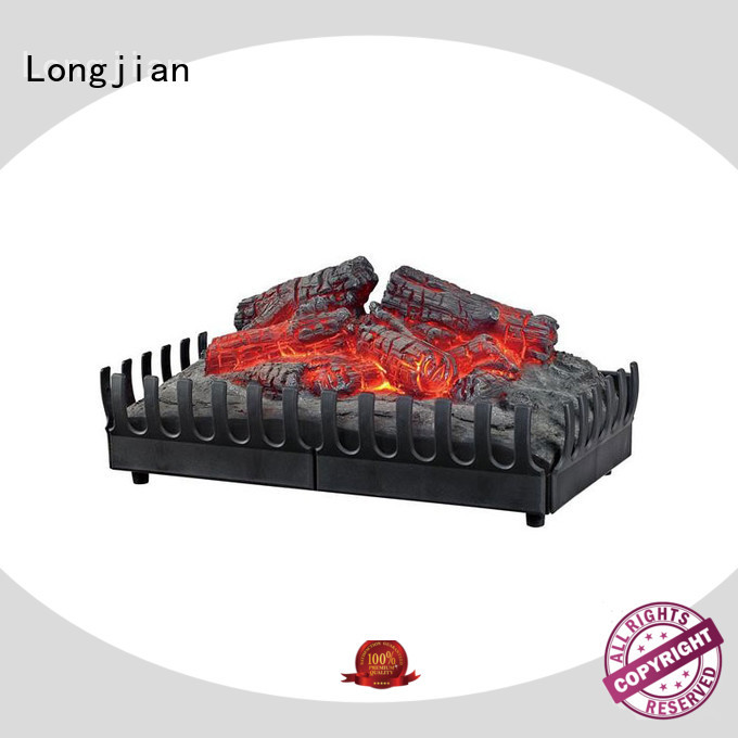 Longjian gradely inset electric fires long-term-use for balcony