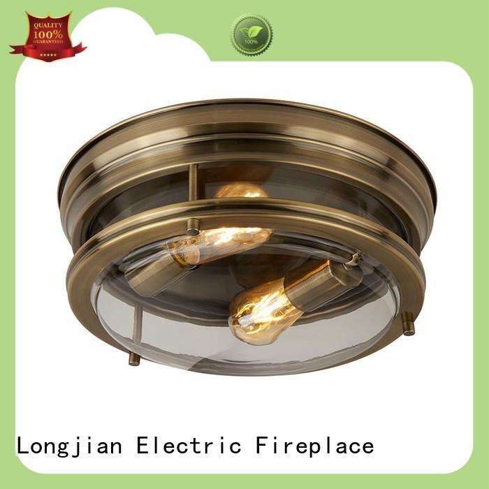 Longjian flush semi flush mount lighting effectively for arcade