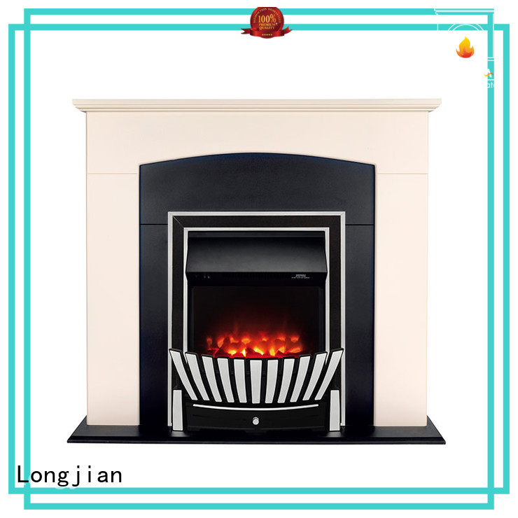 Longjian decorative inset electric fires equipment for kitchen