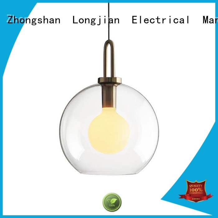Longjian shade pendant ceiling lights owner for bedroom