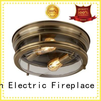 Longjian exquisite semi flush light led-lamp for riverwalk
