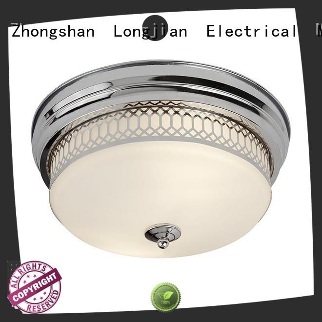 Longjian semiflush semi flush mount lighting package for bike lane