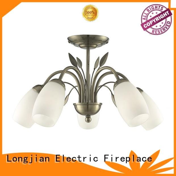 Longjian φ350mm semi flush mount ceiling light China for arcade